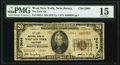National Bank Notes:New Jersey, West New York, NJ - $20 1929 Ty. 2 The First National Bank Ch. # 12064 PMG Choice Fine 15.. ...