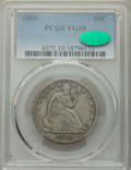 1889 50C VG10 PCGS. CAC. PCGS Population: (9/224). NGC Census: (2/110). CDN: $300 Whsle. Bid for NGC/PCGS VG10. Mintage...