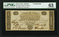 Obsoletes By State:New York, Auburn, NY- Bank of Auburn $10 Dec. 2, 1817 C28 Counterfeit PMG Choice Uncirculated 63.. ...