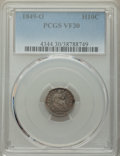 1849-O H10C VF30 PCGS. PCGS Population: (12/58). NGC Census: (5/37). CDN: $300 Whsle. Bid for NGC/PCGS VF30. Mintage 140...