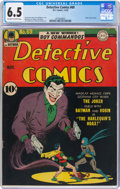 Golden Age (1938-1955):Superhero, Detective Comics #69 (DC, 1942) CGC FN+ 6.5 Off-white to white pages....
