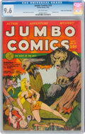Golden Age (1938-1955):Adventure, Jumbo Comics #19 Mile High Pedigree (Fiction House, 1940) CGC NM+ 9.6 Off-white pages....