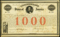 Confederate Notes:Group Lots, Ball 16 Cr. 4 $1,000 1861 Bond About Uncirculated.. ...