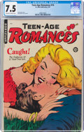 Golden Age (1938-1955):Romance, Teen-Age Romances #14 (St. John, 1951) CGC VF- 7.5 Off-white to white pages....