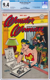 Wonder Woman #25 (DC, 1947) CGC NM 9.4 Off-white to white pages