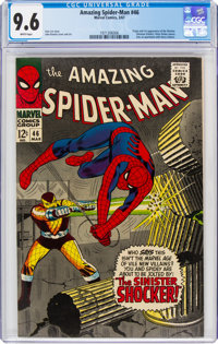 The Amazing Spider-Man #46 (Marvel, 1967) CGC NM+ 9.6 White pages