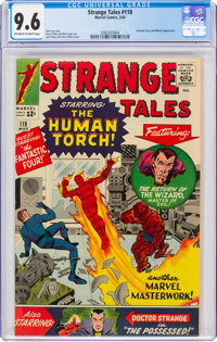 Strange Tales #118 (Marvel, 1964) CGC NM+ 9.6 Off-white to white pages