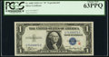 Fr. 1609 $1 1935A R Silver Certificate. PCGS Choice New 63PPQ