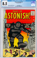 Silver Age (1956-1969):Mystery, Tales to Astonish #3 (Marvel, 1959) CGC VF+ 8.5 Cream to off-white pages....