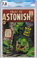 Silver Age (1956-1969):Superhero, Tales to Astonish #27 (Marvel, 1962) CGC FN/VF 7.0 Cream to off-white pages....