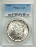 1900-O $1 MS65 PCGS. PCGS Population: (7283/1327). NGC Census: (7402/1085). MS65. Mintage 12,590,000. From the Bert M...