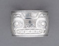 American Indian Art:Jewelry and Silverwork, A Haida Engraved Silver Bracelet...