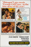 """Movie Posters:Romance, Far from the Madding Crowd (MGM, 1968). Folded, Very Fine. One Sheet (27"""" X 41"""") & Uncut Pressbook (20 Pages, 12"""" X 17""""). Ho... (Total: 2 Items)"""