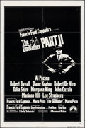 """Movie Posters:Crime, The Godfather Part II (Paramount, 1974). Folded, Fine+. One Sheet (27"""" X 41"""") & Uncut Pressbook (4 Pages, 12.25"""" X 15"""") with... (Total: 6 Items)"""