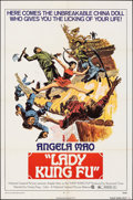 "Movie Posters:Action, Lady Kung Fu & Other Lot (National General, 1973). Folded, Fine/Very Fine. One Sheets (2) (27"" X 41"") & Lobby Card Set of 6 ... (Total: 8 Items)"