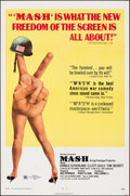 "Movie Posters:Comedy, MASH (20th Century Fox, 1970). Folded, Very Fine-. One Sheet (27"" X 41"") & Cut Pressbooks (2) (7 Pages, 8.5"" X 14""). Comedy.... (Total: 3 Items)"