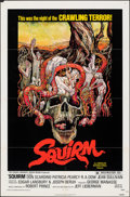 "Movie Posters:Horror, Squirm & Other Lot (American International, 1976). Folded, Very Fine-. One Sheet (27"" X 41"") & Uncut Pressbooks (5) (Multipl... (Total: 6 Items)"