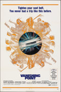 """Movie Posters:Action, Vanishing Point (20th Century Fox, 1971). Folded, Very Fine-. One Sheet (27"""" X 41""""). Action.. ..."""