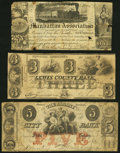 Obsoletes By State:New York, Albany, NY- Albany City Bank $5 Oct. 1, 1863 Counterfeit Fine;. Martinsburgh, NY- Lewis County Bank $3 July 2, 1853 ... (Total: 3 notes)