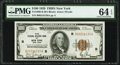 Fr. 1890-B $100 1929 Federal Reserve Bank Note. PMG Choice Uncirculated 64 EPQ
