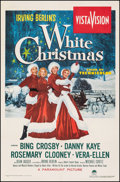 """Movie Posters:Musical, White Christmas (Paramount, 1954). Very Good on Linen. One Sheet (28"""" X 42""""). Musical.. ..."""