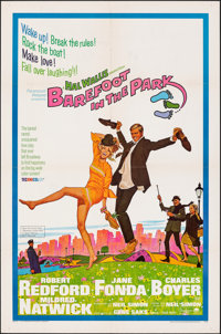 "Barefoot in the Park & Other Lot (Paramount, 1967). Folded, Very Fine-. One Sheets (2) (27"" X 41"") & U..."