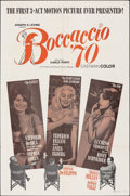 "Movie Posters:Foreign, Boccaccio '70 (Embassy, 1962). Folded, Fine/Very Fine. One Sheet (27"" X 41""). Foreign.. ..."