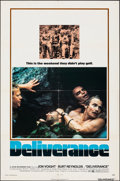 """Movie Posters:Action, Deliverance (Warner Bros., 1972). Folded, Very Fine-. One Sheet (27"""" X 41"""") & Cut Pressbook (20 Pages, 11"""" X 14""""). Action.. ... (Total: 2 Items)"""