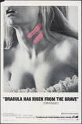 "Movie Posters:Horror, Dracula Has Risen from the Grave (Warner Bros., 1969). Folded, Fine/Very Fine. One Sheet (27"" X 41""). Horror.. ..."