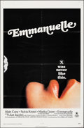 """Movie Posters:Adult, Emmanuelle & Other Lot (Columbia, 1974). Folded, Overall: Fine/Very Fine. One Sheets (2) (27"""" X 41"""") & Uncut Pressboo..."""