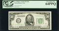 Small Size:Federal Reserve Notes, Fr. 2106-G $50 1934D Federal Reserve Note. PCGS Very Choice New 64PPQ.. ...