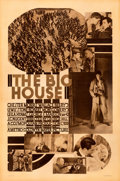 Movie Posters:Drama, The Big House (MGM, 1930). Good/Very Good on Linen.