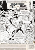 "Original Comic Art:Complete Story, Jim Aparo Brave and the Bold #141 Complete 17-Page Story ""Pay -- or Die!"" Joker and Black Canary Original Art (DC,... (Total: 17 Original Art)"