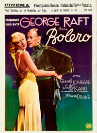 """Bolero (Paramount, 1935). Very Fine- on Paper. Pre-War Belgian (24.25"""" X 33.25""""). From the Mike Kaplan Collect..."""
