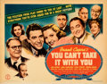 "Movie Posters:Academy Award Winners, You Can't Take It with You (Columbia, 1938). Fine+. Half Sheet (22"" X 28""). From the Mike Kaplan Collection.. ..."