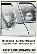 Movie Posters:Documentary, Films by John Lennon and Yoko Ono (Genesis, 1972).