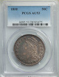 Bust Half Dollars, 1810 50C O-101a, R.1, AU53 PCGS. PCGS Population: (2/12). NGC Census: (1/13). AU53. Mintage 1,276,276. . From A Small C...
