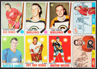1968-1971 Topps Hockey Collection (76) With Stars and HOFers