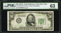 Fr. 2103-B $50 1934A Federal Reserve Note. PMG Choice Uncirculated 63