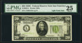 Fr. 2053-L $20 1928C Federal Reserve Note. PMG Very Fine 25
