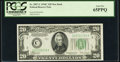 Fr. 2057-C $20 1934C New Back Federal Reserve Note. PCGS Gem New 65PPQ