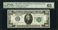 Small Size:Federal Reserve Notes, Fr. 2051-J $20 1928A Federal Reserve Note. PMG Gem Uncirculated 65.. ...