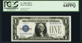 Small Size:Silver Certificates, Fr. 1600 $1 1928 Silver Certificate. PCGS Very Choice New 64PPQ.. ...