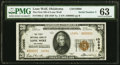 Lone Wolf, OK - $20 1929 Ty. 2 The First National Bank Ch. # 10096 PMG Choice Uncirculated 63