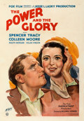 Movie Posters:Drama, The Power and the Glory (Fox, 1933). Very Fine- on Linen.