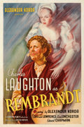 Movie Posters:Romance, Rembrandt (United Artists, 1936). Fine/Very Fine on Linen....