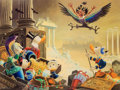 Memorabilia:Disney, Carl Barks Menace out of the Myths Signed Limited Edition Miniature Lithograph Print #10/595 (Another Rainbow, 199...