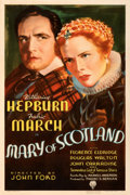 "Movie Posters:Drama, Mary of Scotland (RKO, 1936). Very Fine on Linen. One Sheet (27"" X 41""). From the Mike Kaplan Collection.. ..."
