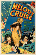 "Movie Posters:Musical, Melody Cruise (RKO, 1933). Folded, Very Fine. One Sheet (27"" X 41""). From the Mike Kaplan Collection.. ..."