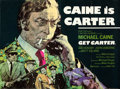 Movie Posters:Crime, Get Carter (MGM-EMI, 1971). Folded, Very Fine+. Br...